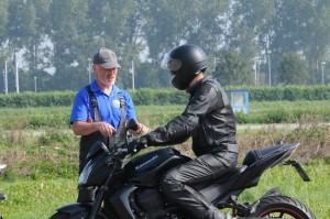Individuele motorrijlessen bij MotoWise