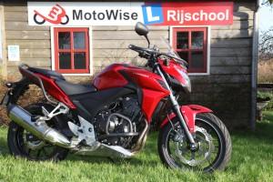 Honda CB500 F voor rijopleiding A2